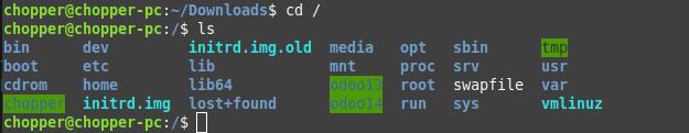 Directory hasil instalasi odoo
